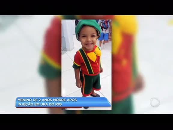 Polícia investiga morte de menino em UPA do Rio - Rio de Janeiro - R7  Balanço Geral RJ e32e0b6fbdc60