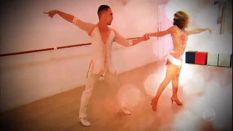 Dançarinos ou atletas? Casal mostra a preparação para…