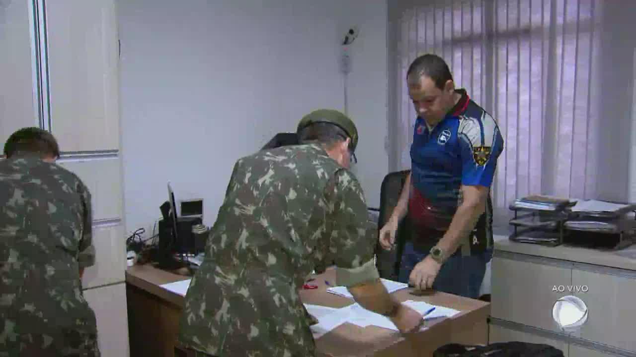 Exército fiscaliza clubes de tiro em Minas Gerais