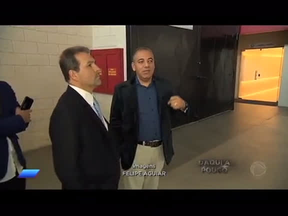 Senador Eduardo Lopes do PRB visita as instalações da Record TV Rio em Vargem Grande, na zona oeste