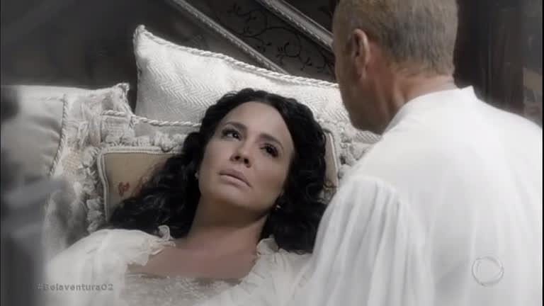 """""""Eu sempre te amei"""", diz Vitoriana ao morrer nos braços de Otoniel"""