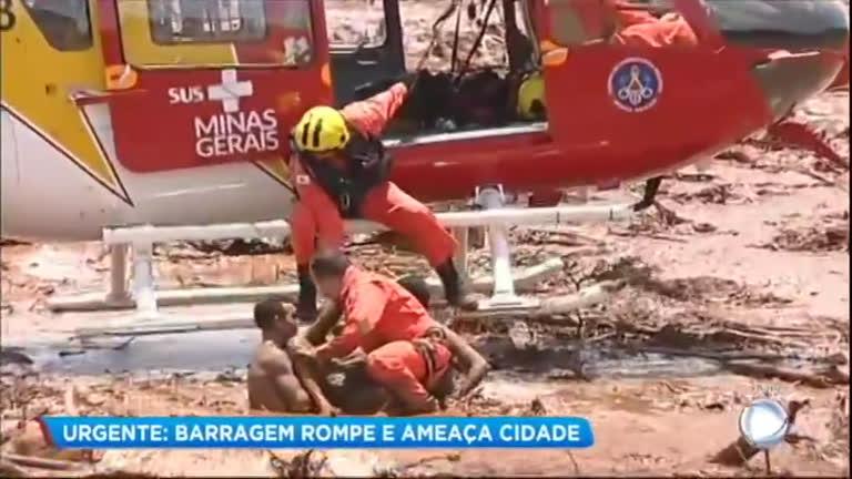 Mensagens De Rompimento: Corpo De Bombeiros Faz Resgate Dramático De Vítimas Do