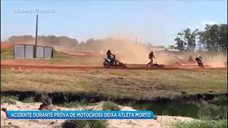 Acidente Durante Prova De Motocross Deixa Atleta Morto Record Tv