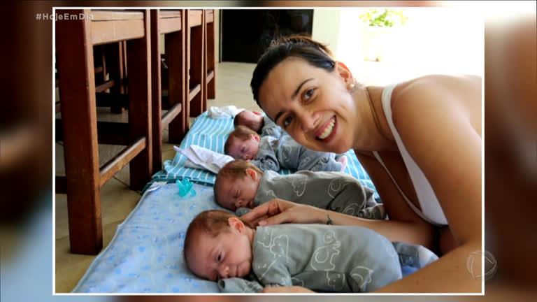 Resultado de imagem para Quadrigêmeos: acompanhe a incrível jornada de uma mãe de múltiplos