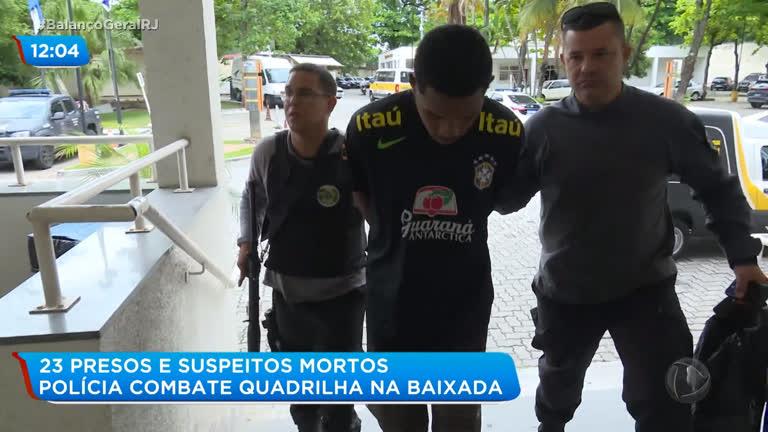 Polícia cumpre mandados de prisão durante operação em Duque de Caxias (RJ) - R7