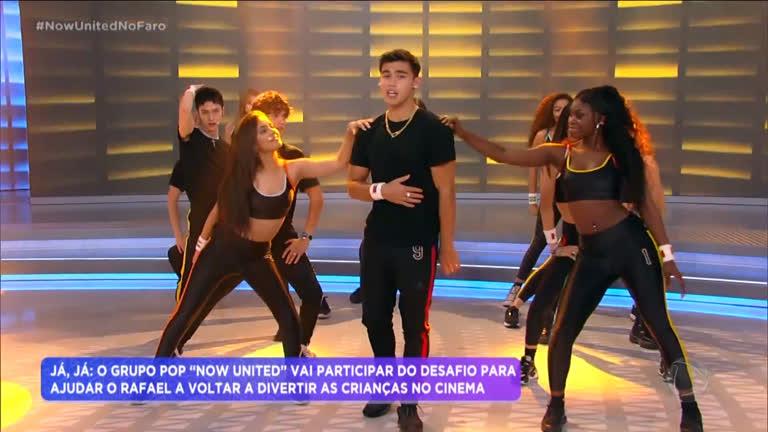 Now United canta sucesso no palco do Hora do Faro - R7