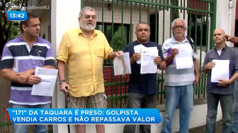 Polícia prende suspeito de fazer golpe com venda de carros na Taquara, zona oeste do Rio - R7