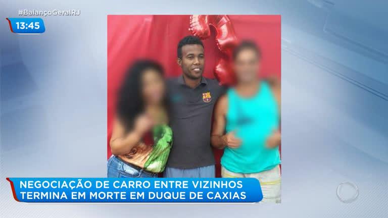 Família pede justiça por homem morto em Duque de Caxias após negociar compra de carro - R7