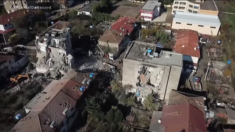 Resultado de imagem para albania terremoto