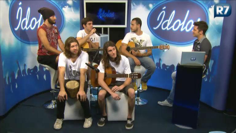 Banda Rancor se apresenta no Ídolos Online