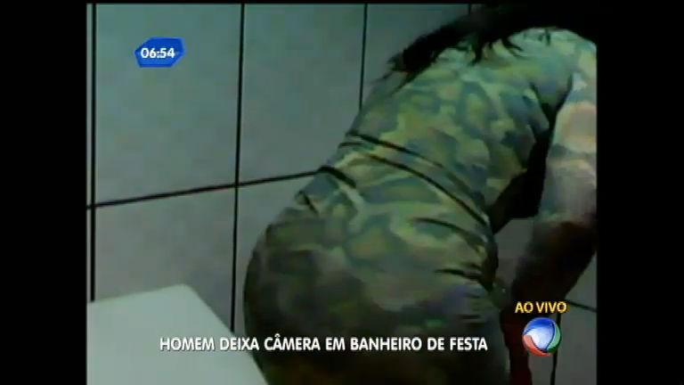 Cameras escondidas em banheiros femininos