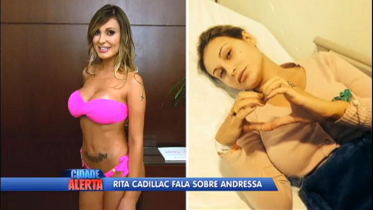 Casa De Cadillac >> Rita Cadillac fica surpresa ao saber sobre estado de saúde de Andressa Urach - Notícias - R7 ...