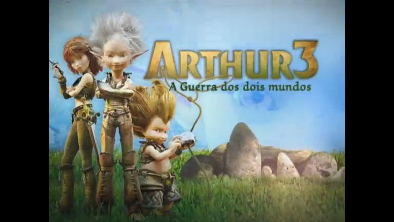 Cine Aventura Apresentada Arthur 3 A Guerra Dos Dois Mundos