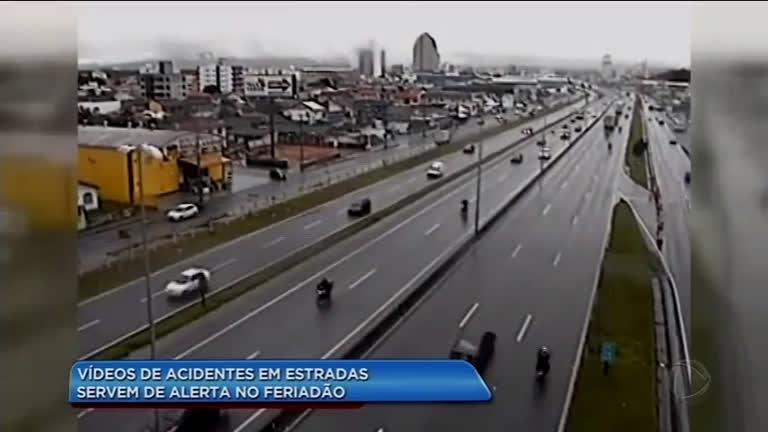 Veja acidentes nas estradas