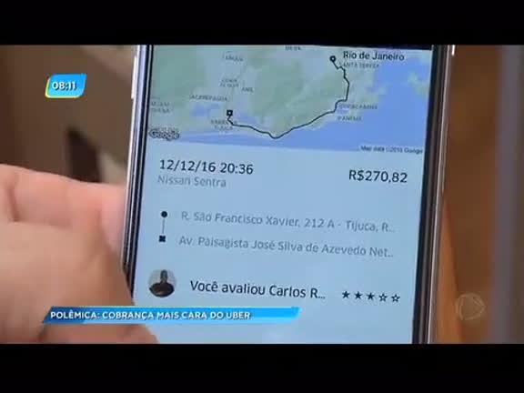 Tarifa dinâmica: passageiros denunciam preços altos do aplicativo Uber