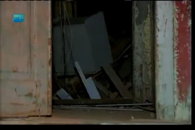 Parte de prédio desaba no bairro do Tororó