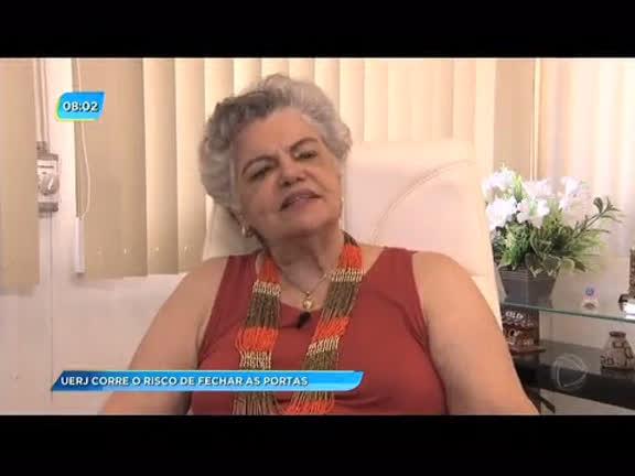 """""""Não vi nada parecido nesses 30 anos"""", diz reitora sobre crise na Uerj"""