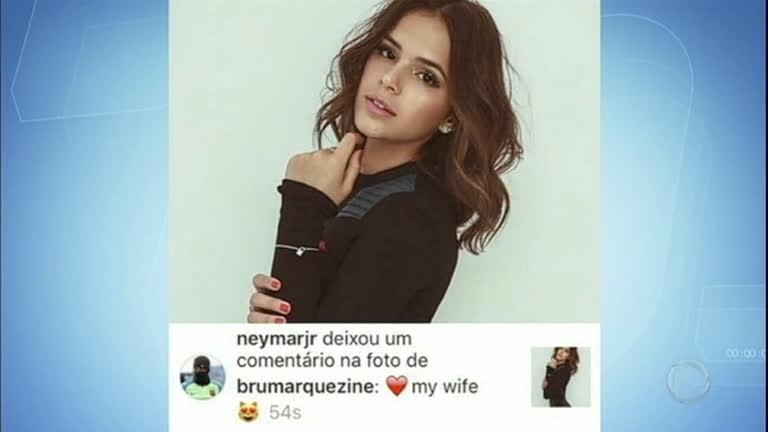 Hora da Venenosa: Neymar levanta suspeita de casamento com Bruna Marquezine