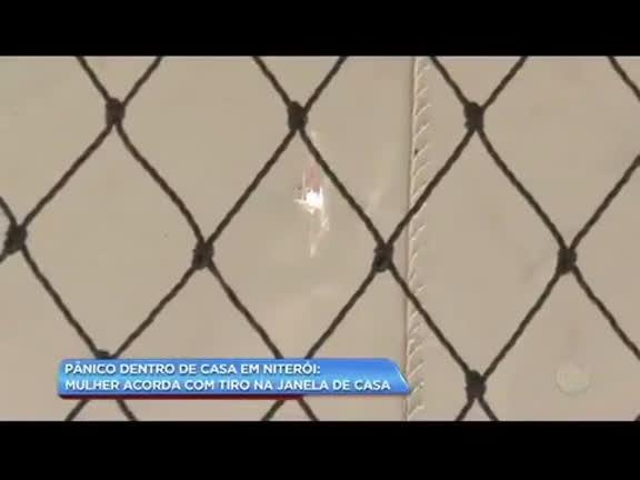 Mulher é surpreendida com tiro na janela em área nobre de Niterói