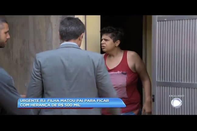 Mulher é suspeita de matar o pai para ficar com herança de R$ 500 mil