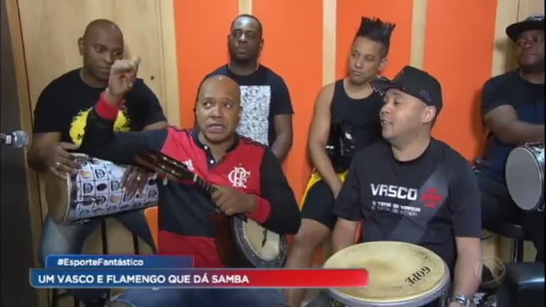 Conheça o Vasco e Flamengo que dá samba - RecordTV - R7 Esporte Fantástico af644b6ba3a9b