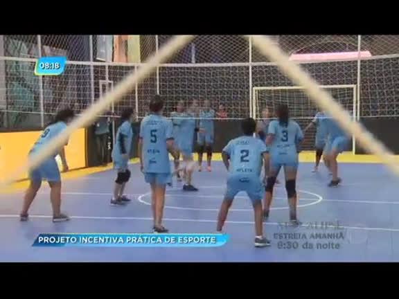 Evento reuniu jovens em competições esportivas na zona portuária do Rio