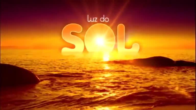 Resultado de imagem para logo da novela Luz do Sol