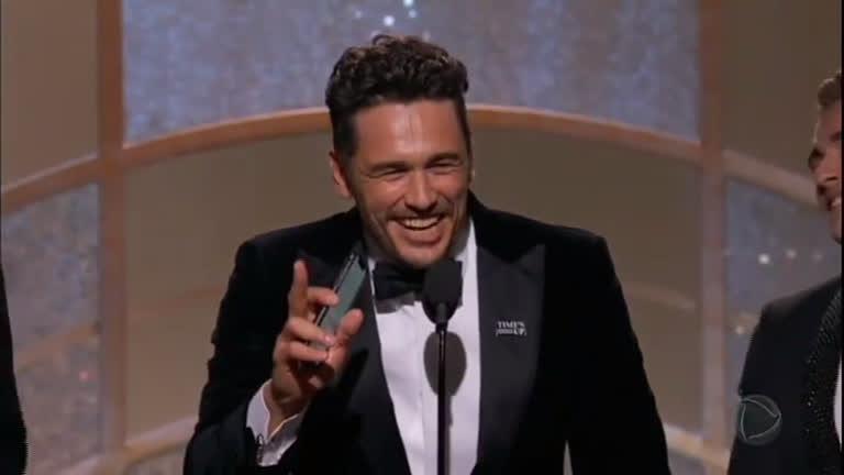 Após ganhar Globo de Ouro, James Franco é acusado de mais casos de assédio