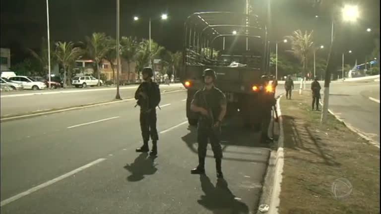 Governo do RN pede extensão da presença das Forças Armadas em Natal