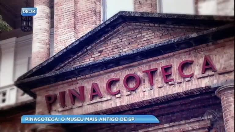 Lugares de São Paulo : Pinacoteca do Estado é o museu mais antigo da cidade