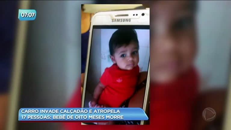Morre bebê de oito meses atropelado por carro no calçadão de Copacabana