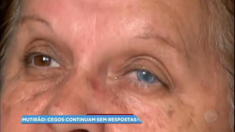 Pacientes pedem justiça após ficarem cegos durante mutirão para cirurgia de catarata