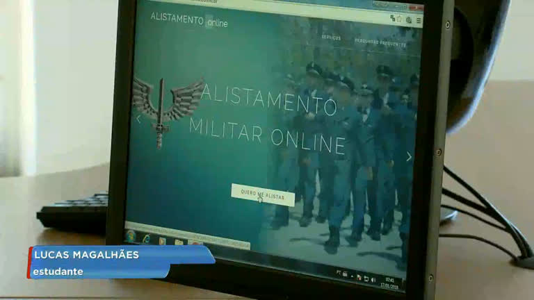 Alistamento militar pode ser feito pela internet