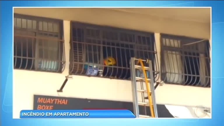 Forno elétrico causa incêndio em apartamento na Asa Norte