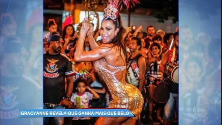 Hora da Venenosa: Gracyanne Barbosa revela que ganha mais que Belo