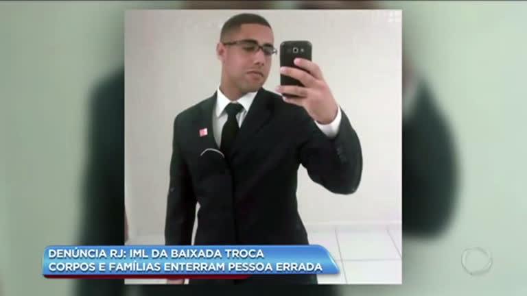 IML da Baixada Fluminense troca corpos e famílias enterram pessoa errada