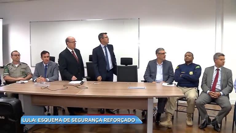 Lula: esquema de segurança reforçado