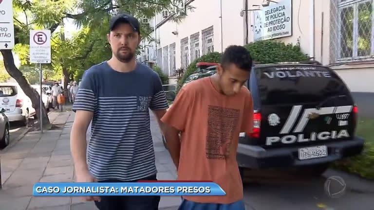 Caso jornalista: mais um preso