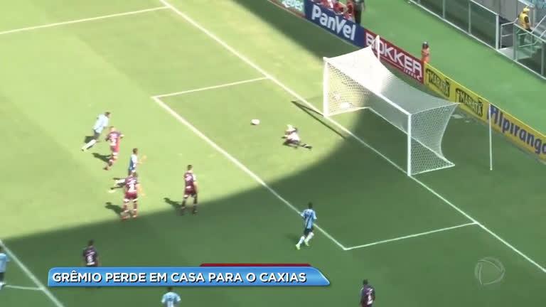 Grêmio perde em casa para o Caxias