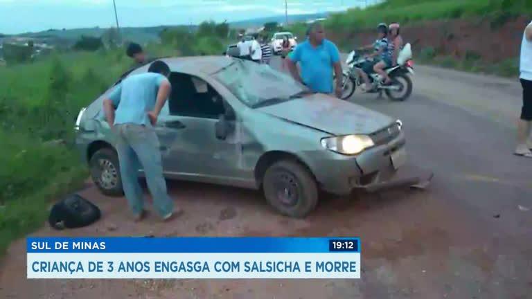 Fim de semana marcado por acidentes com crianças em Minas Gerais