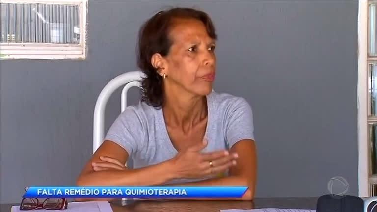 Paciente com câncer de fígado sofre com falta de remédio