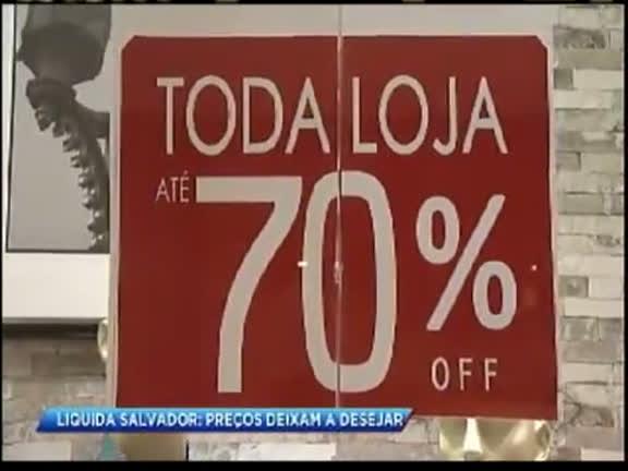 563742f7b Liquida Salvador  produtos estão mesmo mais baratos  - Bahia - R7 Cidade  Alerta BA