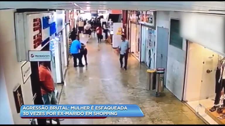 da2e09904 Jovem é esfaqueada 30 vezes por companheiro em shopping na Tijuca - Rio de  Janeiro - R7 Balanço Geral RJ