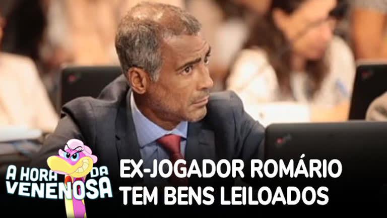 Ex-jogador Romário tem bens leiloados