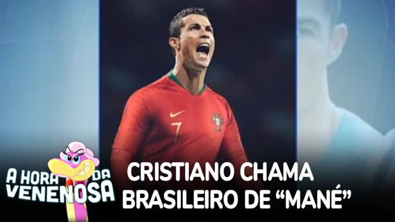 "Cristiano Ronaldo chama ator brasileiro de ""mané"""