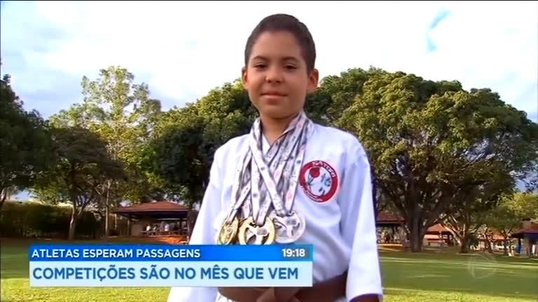 Atletas de Brasília (DF) podem perder campeonatos por falta de dinheiro