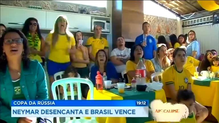 Neymar e Philippe Coutinho se destacam em jogo do Brasil contra Costa Rica