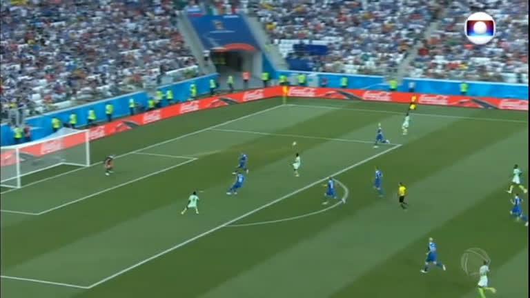 Nigéria vence a Islândia e devolve esperanças para a Argentina