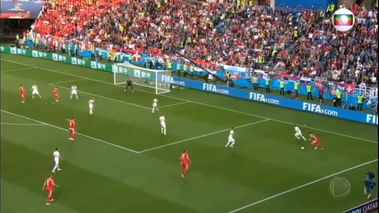 Suíça vira o jogo e vence a Sérvia