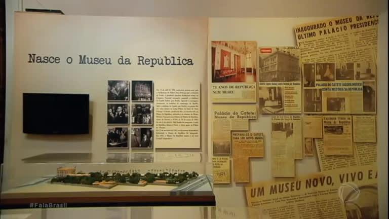 Palácio do Catete guarda memórias importantes do Brasil
